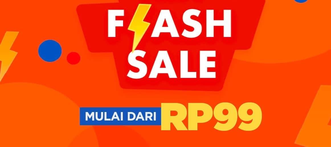 Flash Sale 99 Shopee