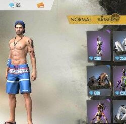 Bundle Beachwear Free Fire
